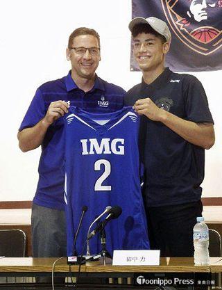 「日本強くしたい」田中(三沢生まれ) 米留学へ抱負/バスケ