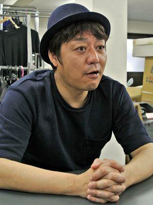 「この災いを乗り切り、ライブハウスで皆と会いたい」と思いを語るタマさん=東京・渋谷のワハハ本舗
