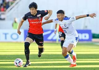 J1名古屋、3連勝ならず