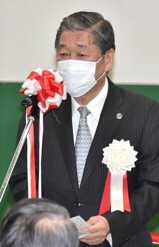 八戸市長選まで半年、現職なお「白紙」
