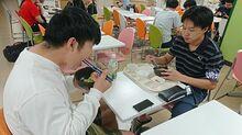 弘大で市民Day、100円でりんご豚丼特別提供