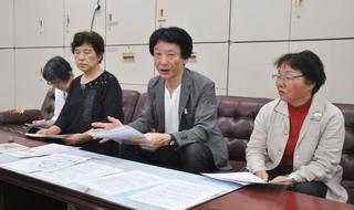 原発再稼働問う県民投票を、仙台