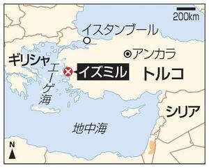 トルコ・イズミル、イスタンブール、アンカラ