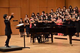 助成事業「県合唱連盟60周年・第60回県合唱祭〜作曲家なかにしあかね氏によるレッスン及び演奏〜」が開催されました