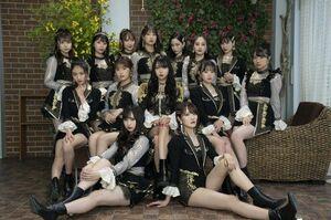 NMB48の25thシングル「シダレヤナギ」新アーティスト写真(C)NMB48