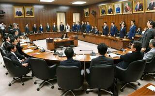 日米貿易協定、衆院委で可決
