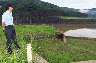 津軽ダムに沈んだ集落跡地を訪問