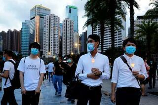 香港、天安門の追悼強行