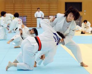 世界柔道女子代表が強化合宿公開