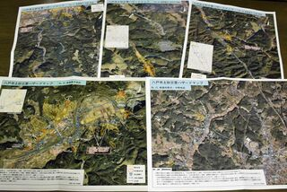 ハザードマップ見やすく 航空写真使用、避難路表示…/八戸