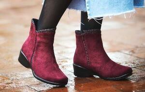 アキレスが発売した「オールデイウォーク」ブランドの防寒ショートブーツ「248」