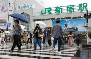 東京の感染者、累計15万人超