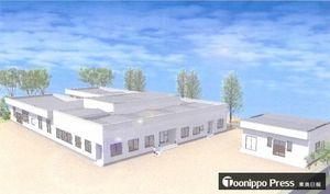 アルクグループが弘前市に開設する企業主導型保育所「ら.ら.ら.保育園」のイメージ図