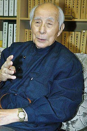 生前の盛田稔さん=2006年撮影