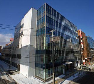東奥日報新町ビル完成/100人出席し竣工式