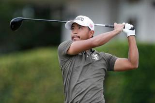 米男子ゴルフ、小平33位のまま