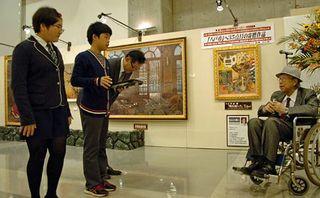 国内画壇の代表作集めた動く美術館開幕/八戸