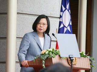 台湾、蔡英文政権2期目スタート