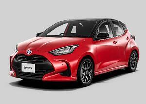 トヨタ自動車が一部改良して発売した小型車「ヤリス」