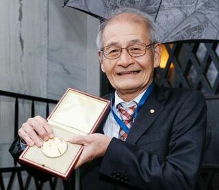 吉野さんノーベル財団訪問