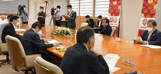 リンゴ輸出促進へ連携/コロナ受け青森県が初会議