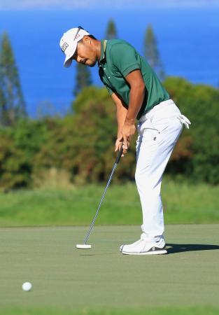 米男子ゴルフ、小平智は32位