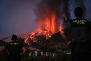 カナリア諸島で火山噴火