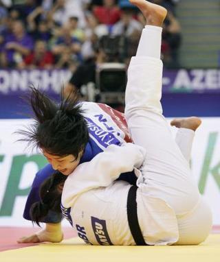 世界柔道、女子で芳田司が初優勝