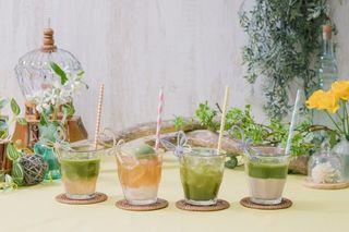 「まずい!もう一杯!」の青汁を使ったインスタ映えする期間限定カフェオープン