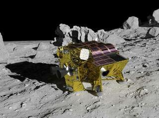 月面探査機の打ち上げ延期