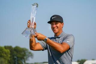 米男子ゴルフ、チャンプが3勝目