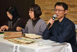 齋藤せつ子さんの作品と魅力について、親交のあった人らが語り合ったシンポジウム