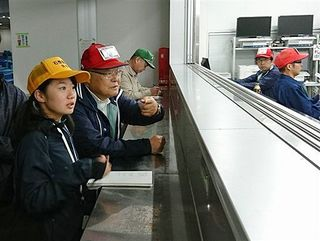 石巻魚市場取材の八工第二高生、膨らむ思い