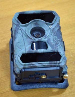 弘前市がリンゴ盗難防止に設置したのと同型のセンサー