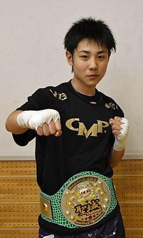 夢は「K-1世界王者」武田選手(弘前二中)3階級制覇