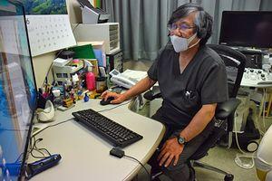 青森市の駒井医師はオンライン診療を積極的に進めるが、初診は安全確保のため原則対面としている