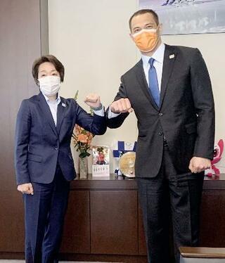 組織委の橋本会長「経験生かす」