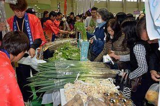 北海道と青森の農産物を安く提供/青森
