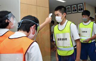 大震災から10年 青森県内避難所、進む感染対策