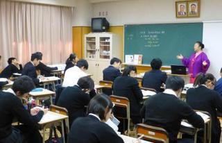 東京朝鮮中高級学校が公開授業
