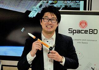 宇宙の利用 もっと手軽に/「衛星」飛ばすエンジニア/寺田卓馬さん(青森出身)