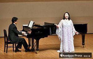 出演者が高らかな歌声を披露したヴォーカルコンサート