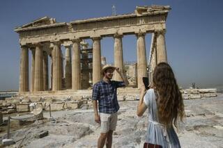 ギリシャ古代遺跡が再開
