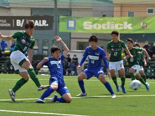 サッカー山田高が9-0 市立船橋に大勝