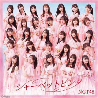 NGT48、シャーベットピンク色のジャケ写&収録曲タイトル解禁