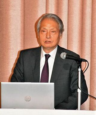 李教授「日韓関係は新たな次元に」/東奥情報懇