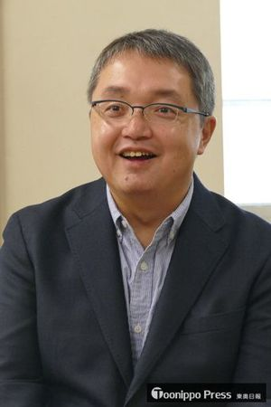 「いとみち」筆者の越谷オサム氏