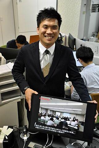中小企業「情報」で支える/経営者向けの勉強会運営/大澤徳さん(青森出身)