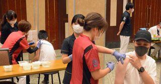 弘前の飲食・仕出し業者ら千人が職域接種