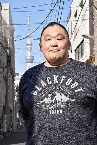 現役引退の44歳・伊勢ノ花「相撲やり切った」